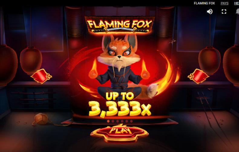 Lähetä kuva 6 parasta 3D kolikkopeliä joita pelata vuonna 2019 Flaming Fox - 6 parasta 3D kolikkopeliä, joita pelata vuonna 2019