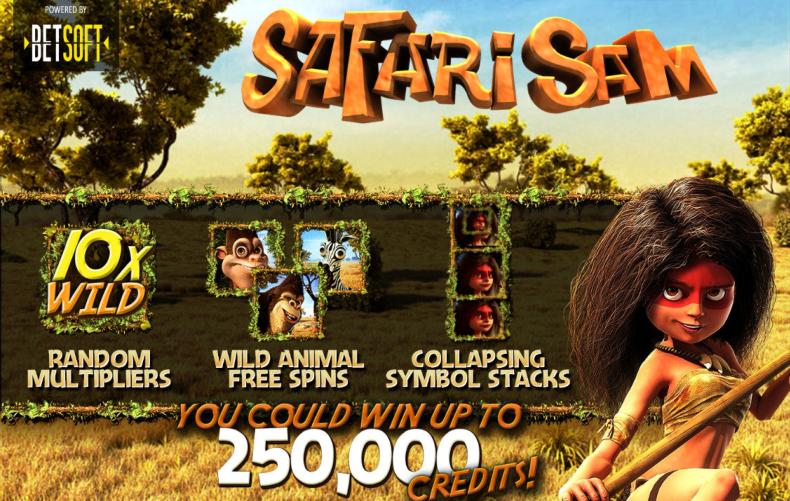Lähetä kuva 6 parasta 3D kolikkopeliä joita pelata vuonna 2019 Safari Sam - 6 parasta 3D kolikkopeliä, joita pelata vuonna 2019